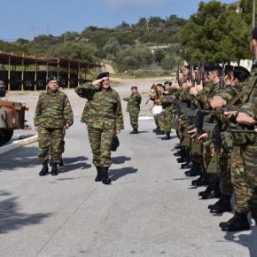 ΓΕΣ: «Έφοδος» Α/ΓΕΣ στην 79 Ανώτερη Διοίκηση ΤαγμάτωνΕθνοφυλακής