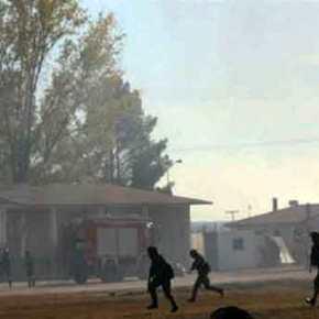 Εκρήξεις σε στρατιωτική άσκηση στο Κιλκίς(Βίντεο)