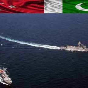 Κλιμακώνονται οι προετοιμασίες εν όψει «Γαλάζιας Πατρίδας»: Κοινή άσκηση από Τουρκία-Πακιστάν