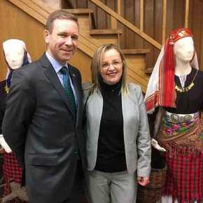 """Η επίσκεψη του Αμερικανού Προξένου στην Θράκη βάζει """"φρένο"""" στο ΤουρκικόΠροξενείο"""