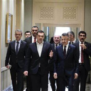 Στην Άγκυρα ο Αλέξης Τσίπρας. Σε εξέλιξη η κρίσιμη συνάντηση με Ερντογάν.