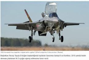 «Πάγωμα» της μεταφοράς των F-35 στην Τουρκία αναμένεται να επιβάλει τοΚογκρέσο