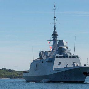 Το γαλλικό Ναυτικό έθεσε στην ενεργό υπηρεσία την πέμπτη FREMM,«Βρετάνη»