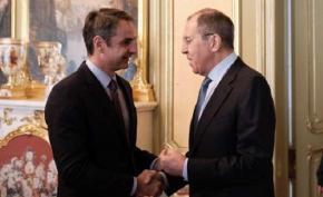 Συνάντηση με τον Ρώσο ΥΠΕΞ Σεργκέι Λαβρόφ είχε ο Κυριάκος Μητσοτάκης στηΜόσχα