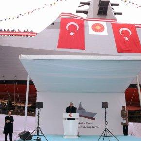 Η Τουρκία καθέλκυσε «κατασκοπευτικό» πλοίο