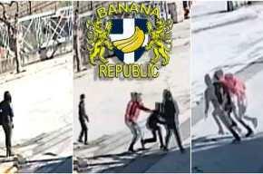 Βίντεο-σοκ: Άγρια επίθεση Ρομά σε γυναίκα στηΘήβα