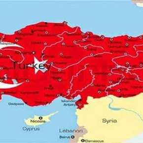 «Τεμαχίζουν» την Ελλάδα οι Τούρκοι – Θράκη, Κύπρος και νησιά του Αιγαίου «ανήκουν» στηνΤουρκία