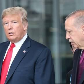 Έληξε το τελεσίγραφο: Ο Τραμπ «τελειώνει» τονΕρντογάν
