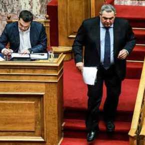 Καμμένος: Κυβέρνηση Εθνικής Ενότητας με πρωθυπουργό τον Κ.Καραμανλή