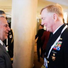 ΥΕΘΑ: Επαφές υψηλού επιπέδου Αποστολάκη με «γίγαντες» διπλωματίας και άμυνας –ΦΩΤΟ