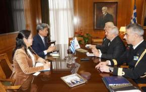 ΥΕΘΑ: Συνάντηση Αποστολάκη με τον πρέσβη της Δημοκρατίας της Κορέας –ΦΩΤΟ