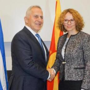 ΥΕΘΑ: «Τέθηκαν βάσεις για γρήγορη στρατιωτική συνεργασία με τη ΒόρειαΜακεδονία»