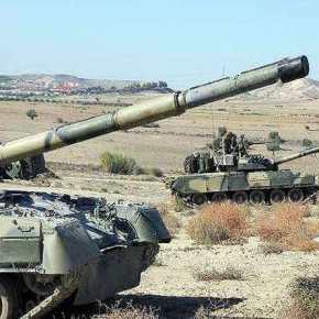 Αναπτύχθηκαν τα άρματα της Ε.Φ της Κύπρου …Απέναντι στα άρματα του Αττίλα που«κώλωσαν»