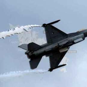 ΕΚΤΑΚΤΟ: Πτήσεις τουρκικών F-16 πάνω από Οινούσσες καιΠαναγιά