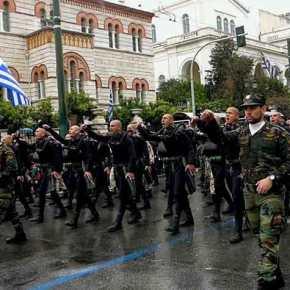 Οι Αλβανοί χλευάζουν τα ένδοξα ΟΥΚ: Δείτε πως καταντήσατε, δεν μπορείτε να φωνάξετε συνθήματα στην παρέλαση της 25ηςΜαρτίου