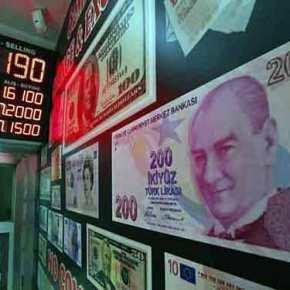Νέο πλήγμα για τον Ερντογάν – Κατρακυλά η τουρκικήλίρα