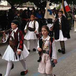 Με πυροβολισμούς υποδέχθηκαν το «Μακεδονία Ξακουστή» στη Καλαμάτα(video)