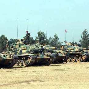 Κύπρος: Οι Τούρκοι ανέπτυξαν άρματα μάχης στον ΑγιοΣωζόμενο