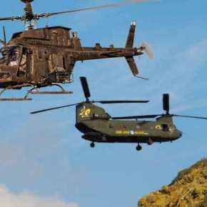 Το δέκατο Chinook της Αεροπορίας Στρατού φτάνει μαζί με τα Kiowa από τηνΑμερική