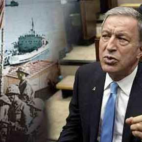 Χ.Ακάρ: «Η εισβολή του 1974 στην Κύπρο ήταν ένα έπος – Τίποτε δεν θα γίνει χωρίςεμάς»