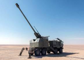 Η Ε.Φ Παραλαμβάνει «24 NORA B52» & 8 οχήματα αναγνώρισης & διοίκησης «BOV M16MILOS.»