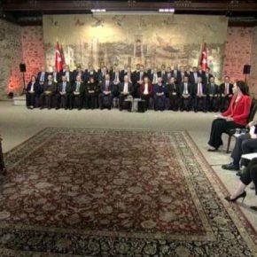 «Εικαστικές» παρεμβάσεις Ερντογάν στην Αγία Σοφία μετά την μετατροπή της σετζαμί