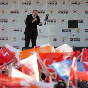 """""""Τούρκος"""" ο Ερντογάν με τον μακελάρη: Δεν υπάρχει Κωνσταντινούπολη, μόνοΙστανμπούλ"""