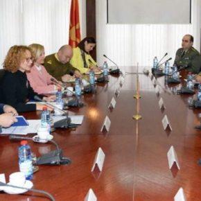 Συνομιλίες Αντιπροσωπείας του ΓΕΕΘΑ με Ομάδα Εμπειρογνωμόνων του ΥΕΘΑ τωνΣκοπίων