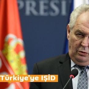 Ο πρόεδρος της Τσεχίας θεωρεί την Τουρκία ως 'de facto' σύμμαχο τουISIS