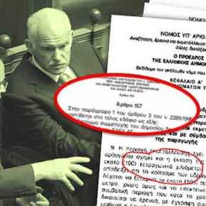 Αποκάλυψη: Πως ελληνικός νόμος σαμποτάρει την εκμετάλλευση υδρογονανθράκων!