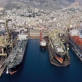 Νεώριο Σύρου: Δύο ημέρες μέσα στη ναυπηγοεπισκευαστική ζώνη