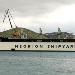 Ναυπηγεία Νεωρίου Σύρου: Στις 17 Μαρτίου τα εγκαίνια της ανακαινισμένης Panamax size δεξαμενής«ΒΙΟΛΑΝΤΩ»