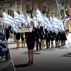 Φυγάδευσαν τον Γ.Βαρεμένο από την παρέλαση στη Μελβούρνη – Οργή ομογενών: «Είσαι αλήτης – Τρέξε προδότη» – Δείτεβίντεο