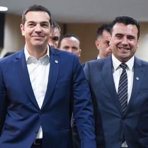 Αρχές Απριλίου το ταξίδι Τσίπρα στα Σκόπια.-Επίσκεψη στα Σκόπια προανήγγειλε ο Τσίπρας – «Διπλωματικό αριστούργημα οιΠρέσπες»