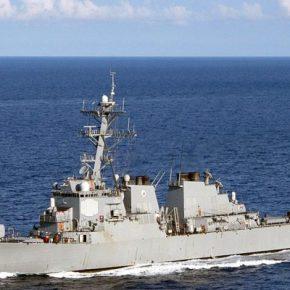 """""""Τσαμπουκάς"""" ρωσικής φρεγάτας Admiral Makarov με το Donald Cook του US Navy, στο ΒόρειοΑιγαίο!"""