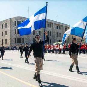 Βρακοφόροι της Κρήτης στην Ρόδο – Ισχυρό μήνυμα σταΔωδεκάνησα