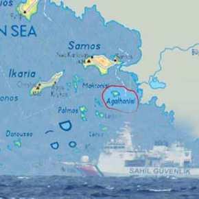 Σκηνικό έντασης στο Αγαθονήσι: Η Τουρκική ακτοφυλακή παρεμπόδισε πλοία του ΛΣ – Η Άγκυρα διεκδικεί την «Έρευνα &Διάσωση»
