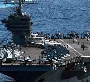 Οι ΗΠΑ ανέπτυξαν 2 αεροπλανοφόρα στην Μεσόγειο: «Για να εξασφαλίσουμε την ασφάλεια στηνπεριοχή»