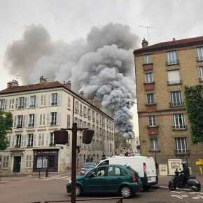 Ο εφιάλτης επέστρεψε στην Γαλλία: Μεγάλη φωτιά στις Βερσαλλίες πολύ κοντά στο παλάτι! (βίντεο,φωτό)