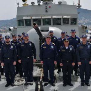 Στο νησί της Λέσβου ο Στόλαρχος του ΠΝ…Επισκέφτηκε Πολεμικά Σκάφη(φωτό)