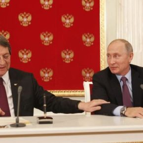Συνάντηση με τον Ρώσο Πρόεδρο θα έχει στην Κίνα ο ΠρόεδροςΑναστασιάδης