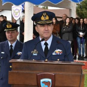 Στην ορκωμοσία της Β' ΕΣΣΟ 2019 ο Αρχηγός ΓΕΑ Αντιπτέραρχος ΓεώργιοςΜπλιούμης