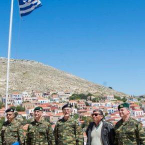 """95 ΑΔΤΕ: Η επίσκεψη Α/ΓΕΣ με το Huey που """"τρέλανε"""" τους Τούρκους(ΦΩΤΟ)"""