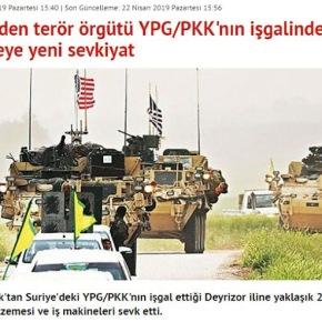 Οι Αμερικανοί με διακόσια φορτηγά παρέδωσαν υλικά στους Κούρδους της Συρίας, λένε οιΤούρκοι