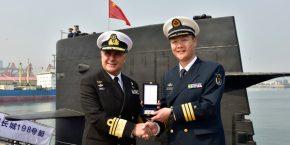 ΓΕΝ: Στην Κίνα βρίσκεται ο Α/ΓΕΝ Αντιναύαρχος Νικόλαος Τσούνης κατόπιν επίσημηςπρόσκλησης