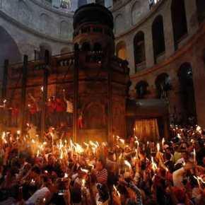 Live η τελετή Αφής του Αγίου Φωτός από ταΙεροσόλυμα