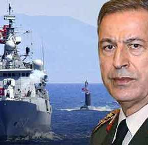 Τελεσίγραφο YΠΑΜ Τουρκίας Χ.Ακάρ σε Ελλάδα: Aπαιτεί αποστρατικοποίηση των νησιών του Αν.Αιγαίου!