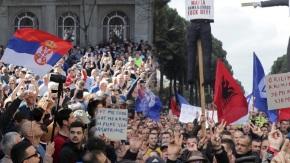 Ρεύμα ανατροπής σε Τίρανα καιΒελιγράδι
