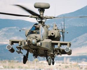 Αναγκαστική προσγείωση ελικοπτέρου «Apache» σταΦάρσαλα