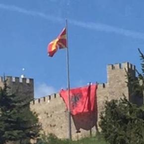 Σκόπια: Για αλβανική σημαία στο φρούριο του Σαμουήλ- Πρόστιμο καιΑπέλαση